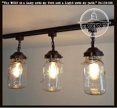 Glass Jar Pendant Light Mason Jar Ceiling Lights Mason Jar Track Mason Jar Pendant