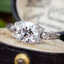 old wedding rings images Vintage engagement rings antique diamond rings eragem jpg
