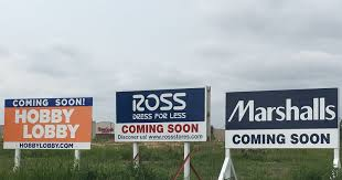 lake lorraine openings hobby lobby ross dress for less to open