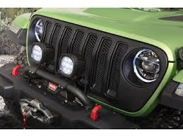 led lights for jeep wrangler jeep wrangler performance off road led light kit 7 round part no