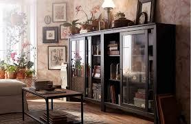 ikea hemnes glass door cabinet hemnes livingroom ikea