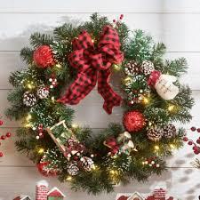 26 pre lit merry bright wreath improvements catalog