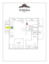 cabin floorplan cabin layout lake arrowhead lodging pine rose cabins