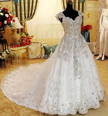 wedding dress with bling discount 2013 style shoulder crystals wedding dresses