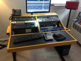 Diy Studio Desk Home Studio Workstation Recording Desk Diy