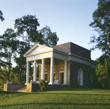 palladian style guest house designed by michael dwyer on a point