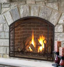 Dual Gas And Wood Burning Fireplace by 14