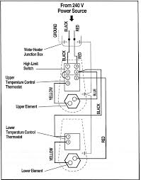 how to wire water heater thermostat new wiring diagram webtor me