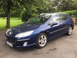 peugeot 407 sw hdi 140 2007 navy blue manual immaculate condition