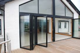 Interior Folding Glass Doors Fantastic Bi Fold Glass Doors On Modern Home Interior Design C12