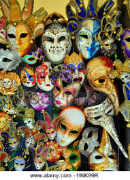 venetian masks types traditional venetian masks in a souvenir shop in venice italy