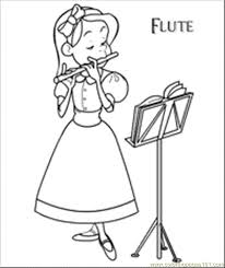 cello coloring page flute coloring page free instruments coloring pages