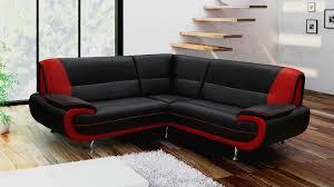 canape d angle noir canapé d angle noir et