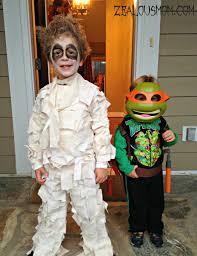 frighten the neighborhood with this diy mummy costume zealous mom