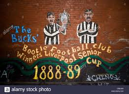 bootle football club wall mural the strand seaforth liverpool bootle football club wall mural the strand seaforth liverpool merseyside uk