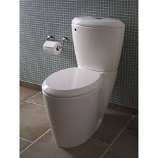 bathroom lowes tile flooring with modern white duravit toilet for