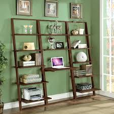 Ladder Bookcase Plans by Shelves Ladder Shelf Desk Uk White Ladder Shelf With Desk Home