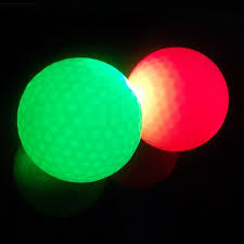 light up golf balls light up golf ball pack of 3 official size and weight