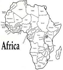 map of africa with country names a printable map of south america labeled with the names of each