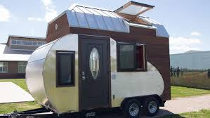 Living On One Dollar Trailer by Trailer Or Tiny Home The Tiny Drop Is The Best Of Both For Off