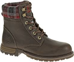 womens cat boots nz kenzie steel toe work boot bark cat footwear