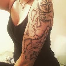Map Tattoos Travel Tattoos Popsugar Smart Living