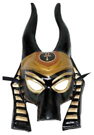 Egyptian Halloween Costumes Anubis Mask
