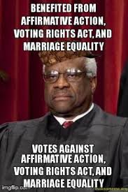 Marriage Equality Memes - benefited from affirmative action voting rights act and marriage
