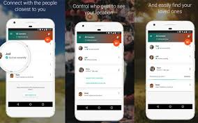 contacts android app s trusted contacts app for android lets loved ones you
