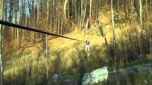 arcade en bois ziplining haut bois normand arbre adventure youtube