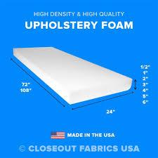 upholstery foam ebay
