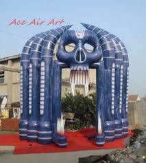 halloween inflatables cheap inflatable skull inflatable skull suppliers and manufacturers at