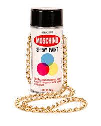 Spray Paint White - moschino spray paint shoulder bag white multi