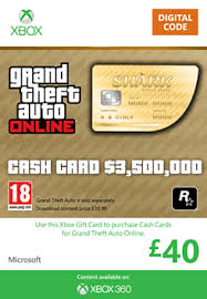 xbox 360 gift card buy gta online whale shark card 3 500 000 xbox 360 on