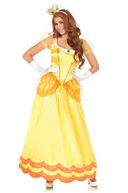 halloween women costumes princess halloween costumes yellow gown dress up for