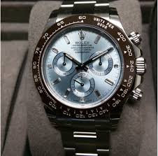 diamond rolex rolex daytona platinum baguette diamond for 61 720 for sale from