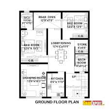 house plan for 33 feet by 41 feet plot plot size 150 square yards