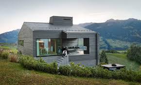 architektur ferienhaus architekturbüro ivan cavegn ferienhaus schwarz degen