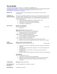 Sample Resume For Insurance Agent Service Crew Resume Resume For Your Job Application