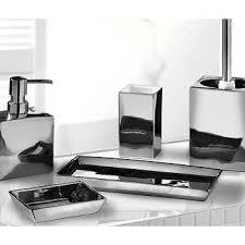 ideas with silver bathroom accessories in gold bathroom