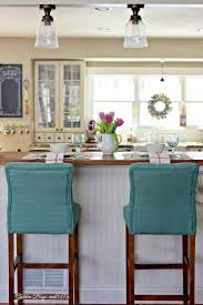 Kitchen Island Chairs Or Stools Furniture Stools For Kitchen Island Wood And Metal Bar Stools