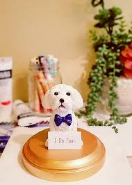 dog cake topper wedding cake toppers etsy atdisability