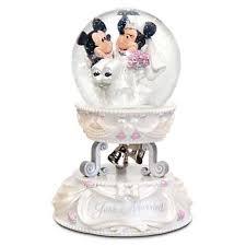 your wdw store disney snow globe mickey and minnie wedding