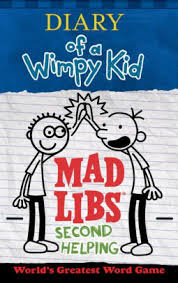 hanukkah mad libs diary of a wimpy kid mad libs second helping by kinney