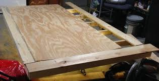 How To Make A Cheap Platform Bed Frame by How To Build A Diy Floating Bed Frame With Led Lighting