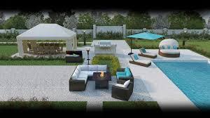 backyard furniture home outdoor decoration