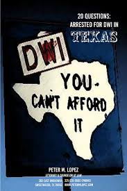 20 questions arrested for dwi in texas can i get a deferred
