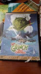 how the grinch stole christmas dvd by mileymouse101 on deviantart