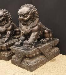 fu dog statues the three celestial guardians foo dog tattoo foo dog and lions