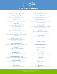 blue martini menu happy hour is back at palm cay secure luxury bahamas marina